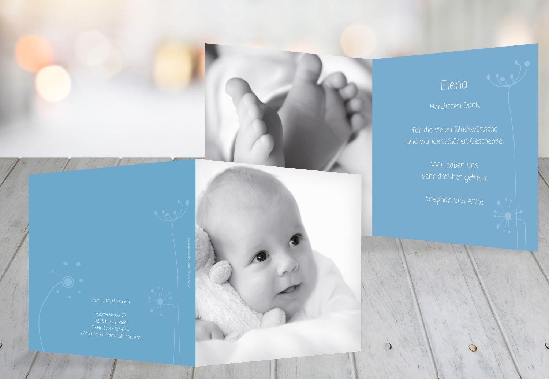 Kartenparadies Danksagung für Geburt Baby Dankeskarte abstrakte Blaumen, hochwertige Danksagungskarte Baby inklusive Umschläge   100 Karten - (Format  145x145 mm) Farbe  Orange B01MZFQ52N | Shop  | München  | Ab dem neuesten Modell
