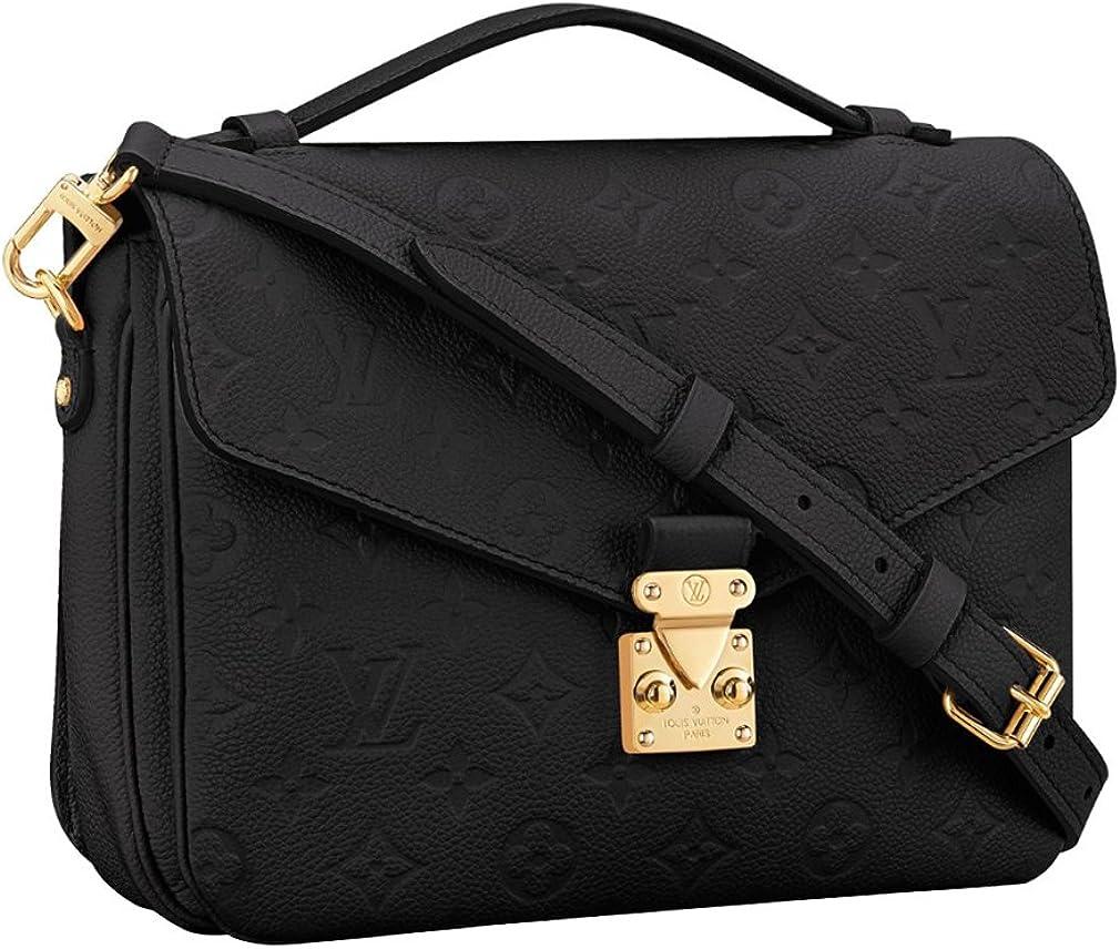 Louis Vuitton Monogram Empreinte Leather Pochette Metis Handbag Article: M41487 Made in France