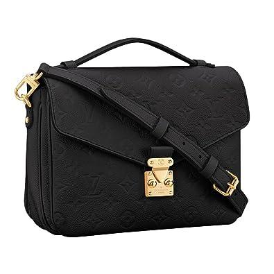 73b4148a56bc Louis Vuitton Monogram Empreinte Leather Pochette Metis Handbag Article   M41487 Made in France  Handbags  Amazon.com