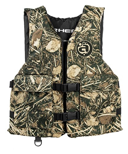 AIRHEAD SPORTSMAN Life Vest with Pockets, Camo