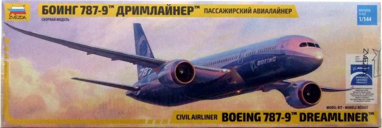 Amazon.com: zve7021 1: 144 zvezda Boeing 787 – 9 Dreamliner ...
