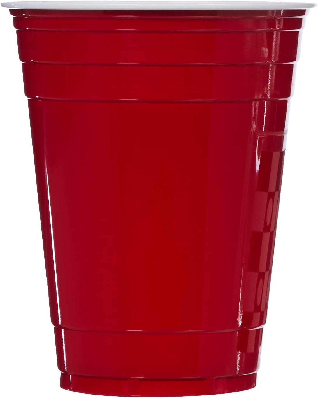 Basics 16-Ounce Disposable Plastic Cups, Red - Pack of 240: Kitchen & Dining