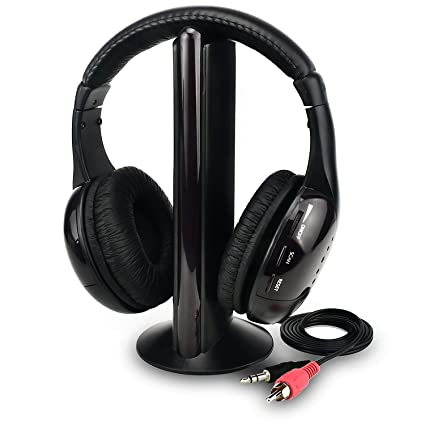 Auriculares inalámbricos de TV Inicio Auriculares para Ver televisión, Ears de TV Micrófono 5 en