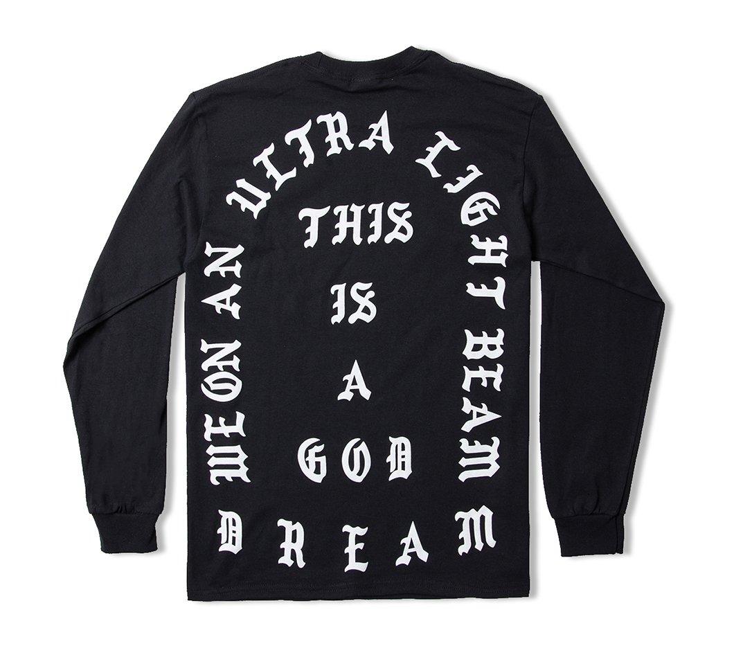 427e0045155 AA Apparel Yeezus Tour Glastonbury Long Sleeve Kanye West Shirt