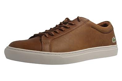 LACOSTE - L.12.12 317 1 CAM - Herren Sneaker - Braun Schuhe in Übergrößen