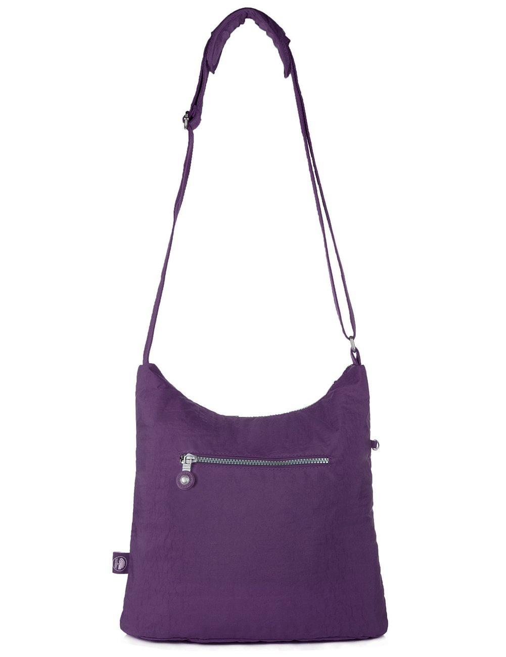 1203 Army Green//Medium Oakarbo Crossbody Bag Multi-Pocket Shoulder Bag