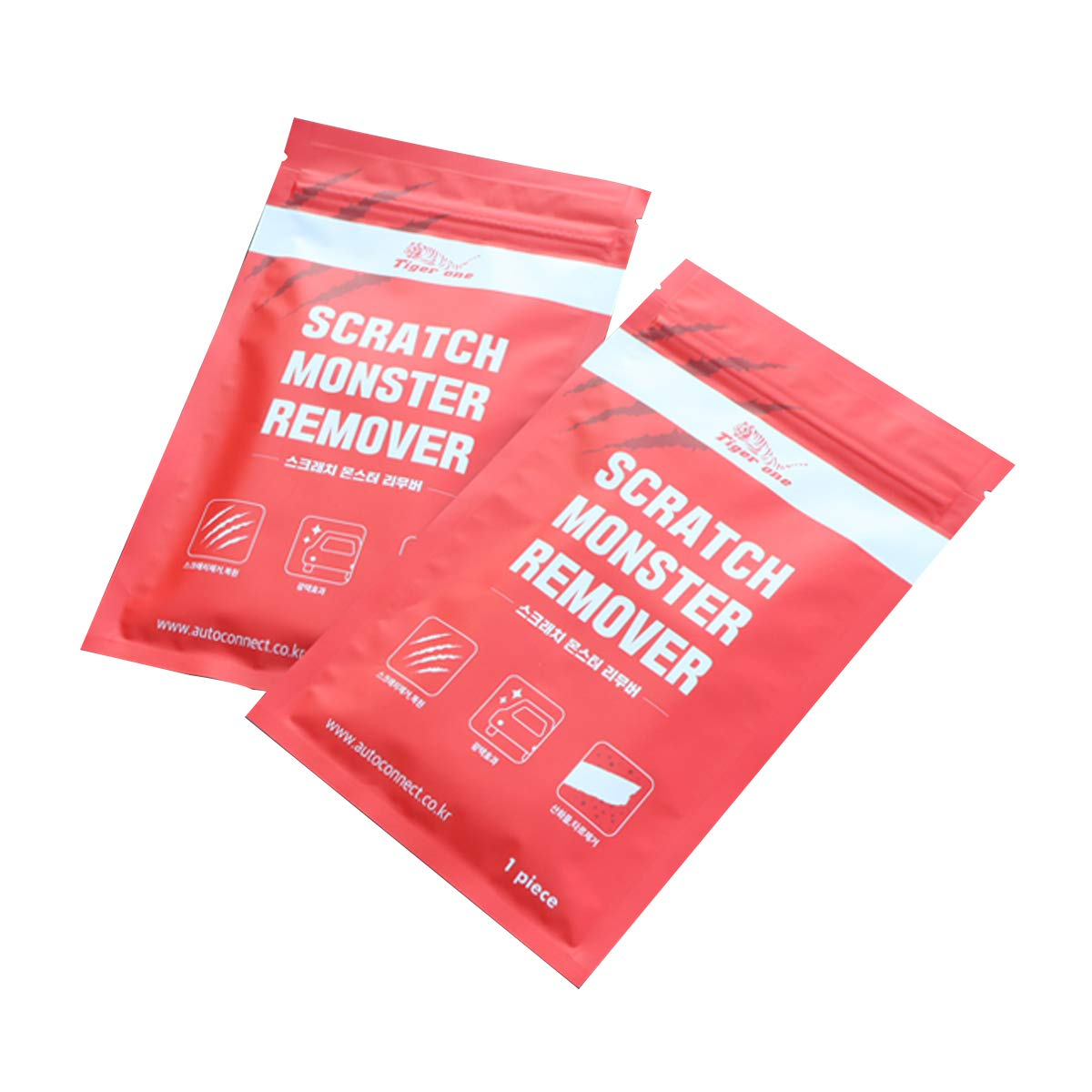 Monster Car Scratch Scuff Remover, Paint Recover, Fine Polish Cloth with Nano Technology 1Pack