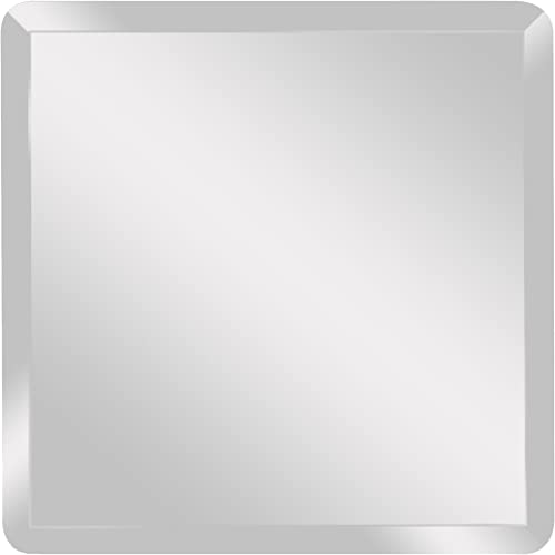 Spancraft Glass Square Beveled Mirror