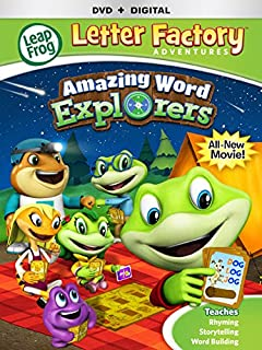 leapfrog letter factory adventures amazing word explorers dvd digital