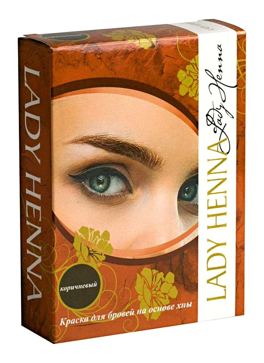 Amazon.com: Eyebrow Tint Eyebrow Color Henna Coloring Kit ...