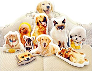 Custom Pet Pillow - Personalized DIY Shaped Pillow with Pet/Food/People and Others - Duplex Printing Customized Lover Gifts (20inches)