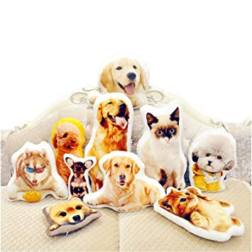 Amazon.com: Almohada personalizada para mascotas, almohada ...