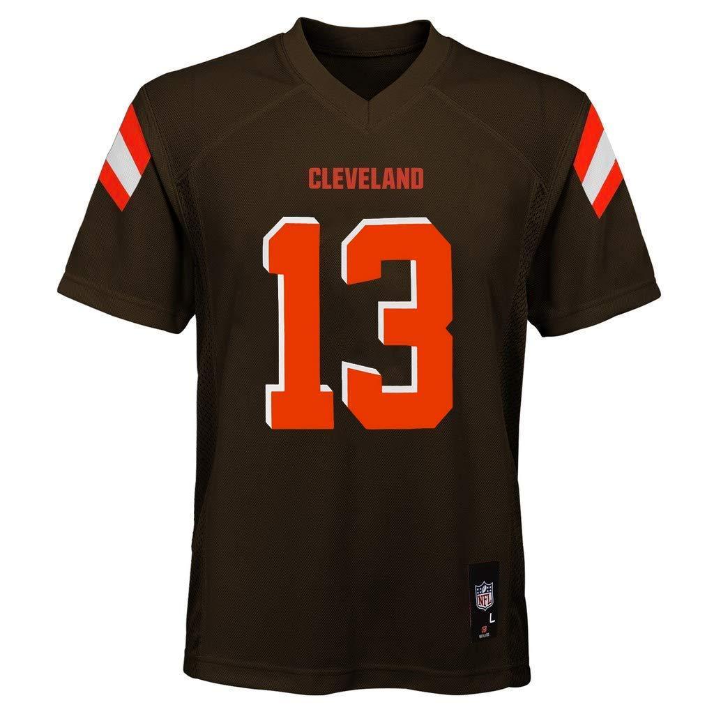 Odell Beckham Jr Cleveland Browns NFL Toddler 2-4 Brown Home Mid-Tier Jersey