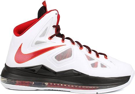 Nike Lebron X 541100-100 - Zapatillas de baloncesto Talla:US 16 ...
