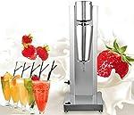 Gdrasuya10 Commercial Milkshake Machine,Stainless Steel Electric Single-Head 18000RMP High Speed for