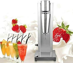Gdrasuya10 Commercial Milkshake Machine,Stainless Steel Electric Single-Head 18000RMP High Speed for Drink Mixer 650ML 110V