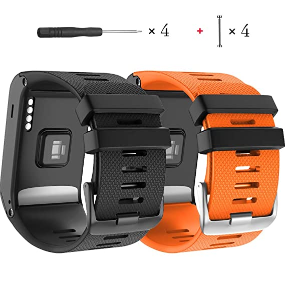 c103272ab Amazon.com: NotoCity for Garmin Vivoactive HR Band, Soft Silicone ...
