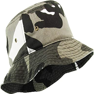 1f3eb39abe6 Image Unavailable. Image not available for. Color  Boonie Bucket Hat  Fishing Hunting Outdoor Cap Citi Camo