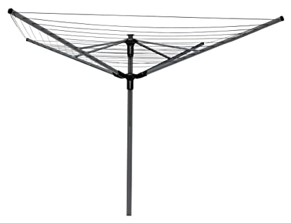 bd7a5c57637c The Home Laundry Company Extra Large 60m 4 Arm Multi-height Rotary Washing  Line with FREE cover