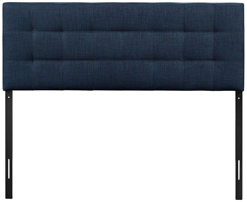amazoncom  modway lily upholstered tufted fabric headboard  - amazoncom  modway lily upholstered tufted fabric headboard  king size innavy