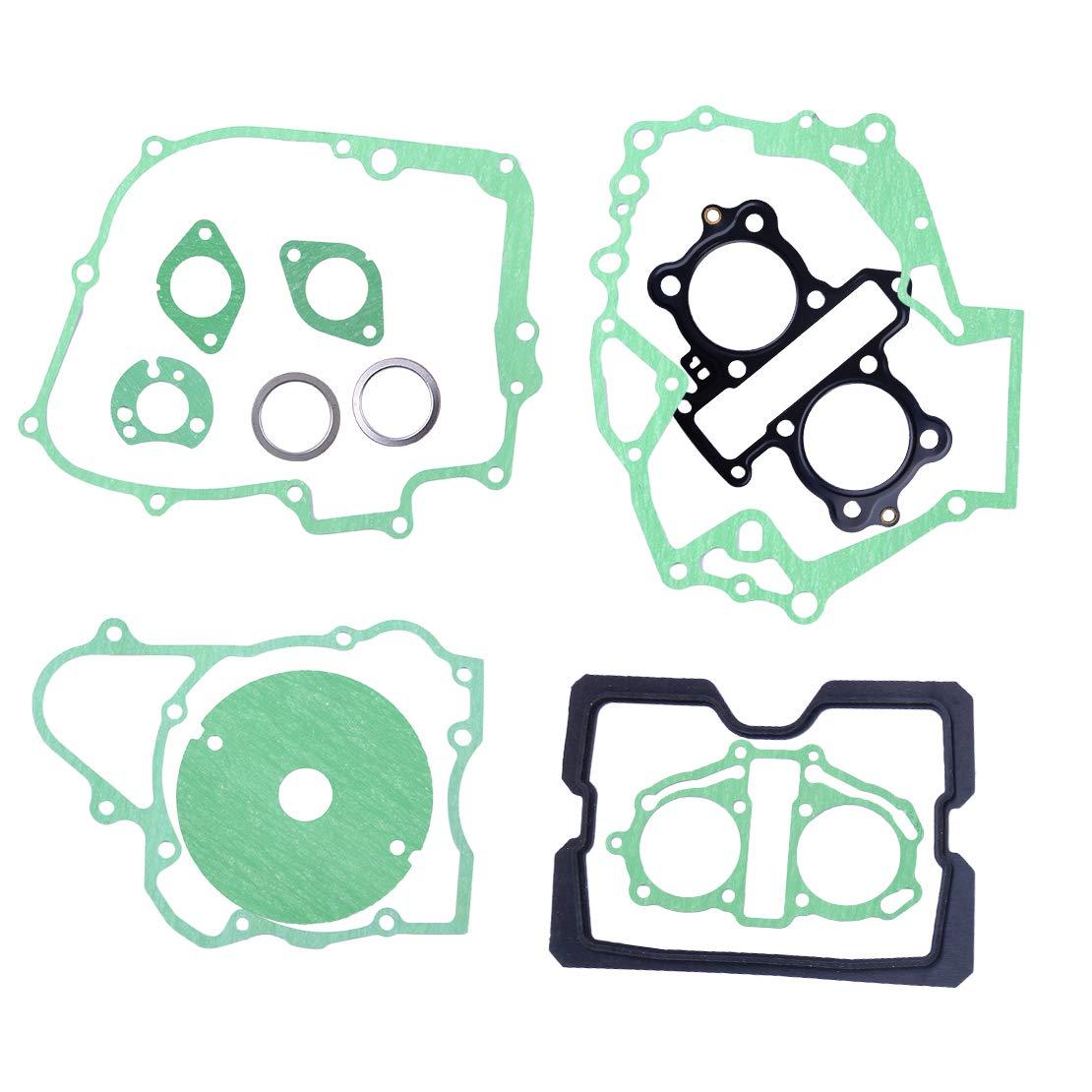 beler 12pcs Engine Cylinder Ring Rebuild Gasket Set Fit for Honda 250 Rebel CA250 CMX250 CMX250C