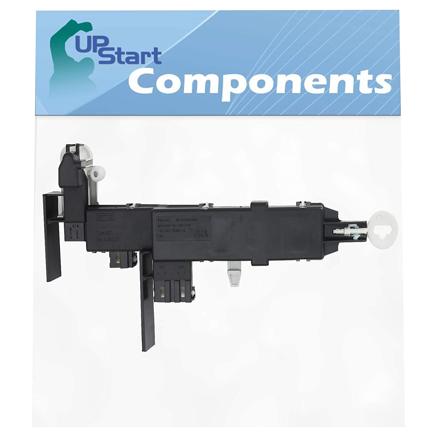 8182634 WP8182634 Washing Machine Door Latch Lock Replacement for Samsung WF337AAG//XAA Washer Compatible with DC64-00519B Washer Door Lock Switch Assembly