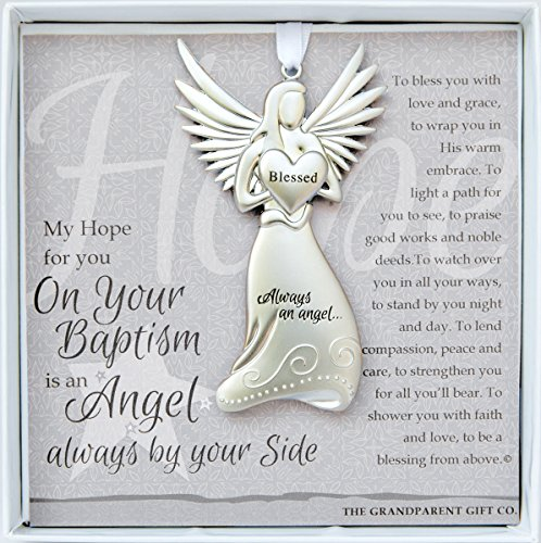 Always an Angel On Your Baptism Keepsake Gift / Ornament