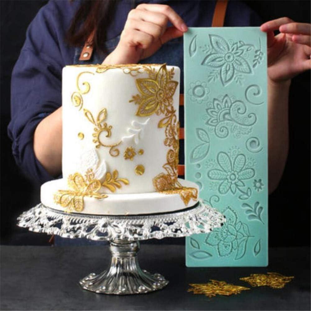 Cake Lace Mat Cake Decorating Tools Silicone Mold Fondant Mold Sugarpaste W
