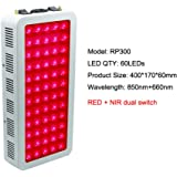 300W 500W 1000W Red Light Therapy Lamp Red 660nm & Near Infrared 850nm, Full Body Led Light Therapy for Skin and Pain Relief,300W