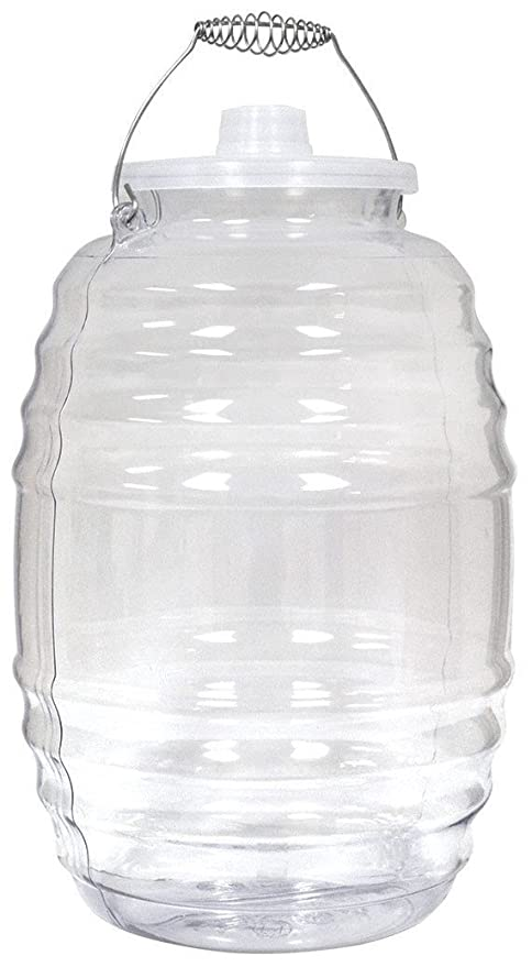 Eleganceinlife Aguas Frescas 5 Gallon Vitrolero Plastic Water Container For Water and Juice Party