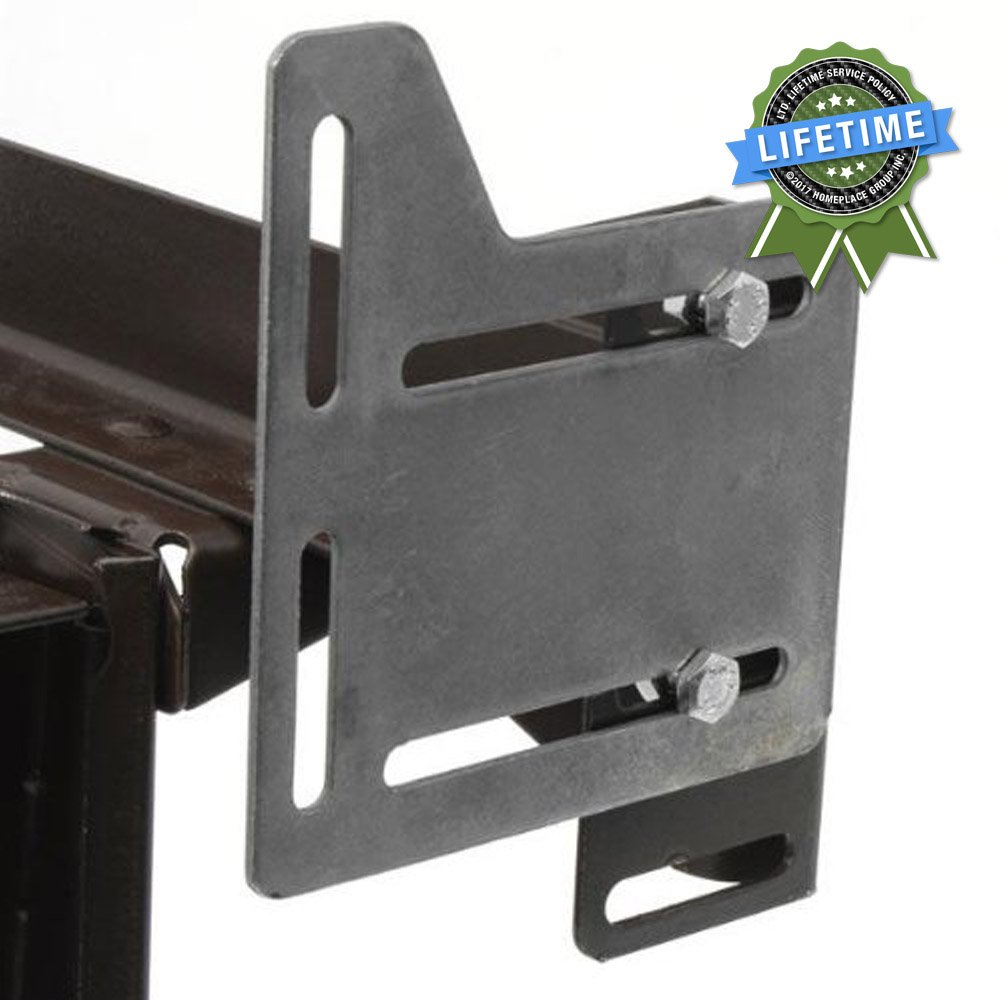 Bed Claw Queen Bed Modification Plate, Headboard Attachment Bracket, Set of 2 21628