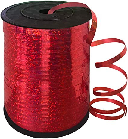 Floral Craft Ribon Red METALLIC Ribbon Gift Wrapping Party Decoration Florist