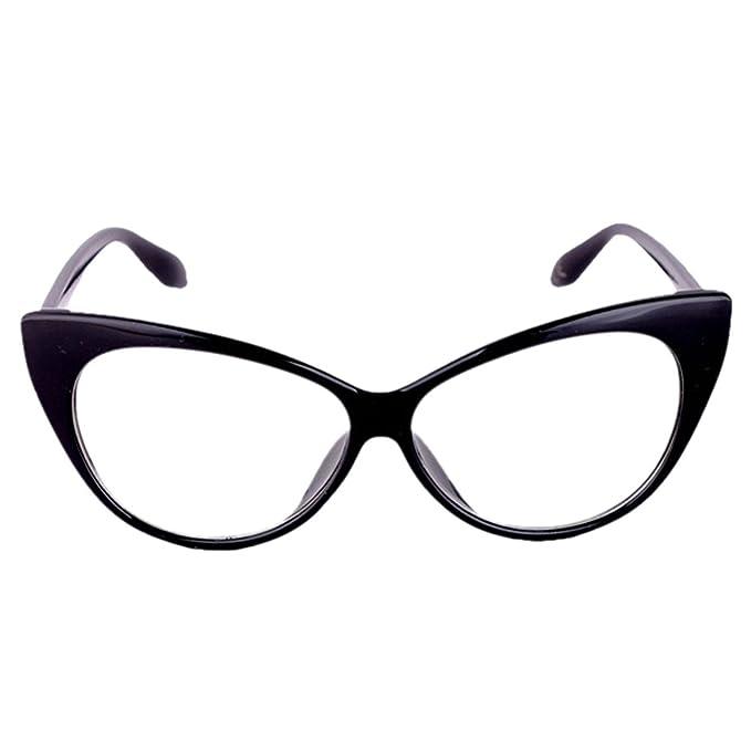 5c653df68b8ab Lunettes à verres transparents pour look geek  nerd Monture noire Eyewear  World Cadeaux de vacances
