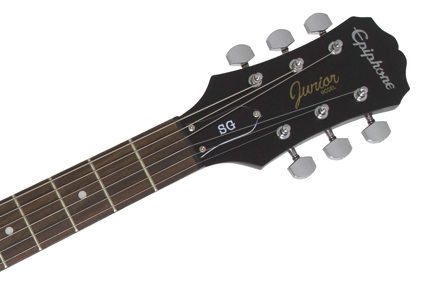 Amazon.com: Epiphone PPEG-EGGJWKNH3-US SG-Junior Player Pack, Worn Black: Musical Instruments