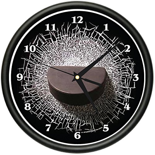Hockey Puck Wall Clock