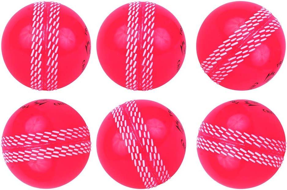 Sports /& ext/érieur Kosma Lot de 6/Wind Balle Balle de Cricket Doux Balles dentra/înement