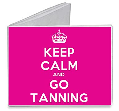 Amazon keep calm and go tanning paper tyvek wallet clothing keep calm and go tanning paper tyvek wallet malvernweather Images