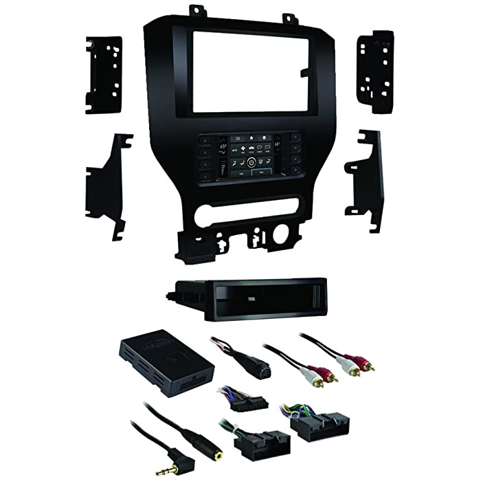 "Metra 99-5838CH Turbo Touch Premium Dash Kit with Integrated Touch Screen For 2015-UP Ford Mustang with 4.2"" Screen"
