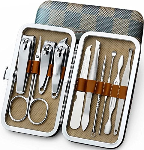 REFAGO 10 in 1 Manicure Pedicure Set Nail Clippers set