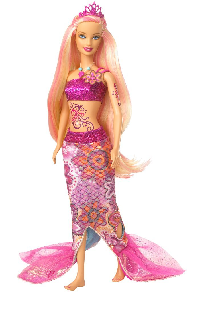 Uncategorized Barbie In A Mermaid Tale Dolls amazon com barbie in a mermaid tale merliah doll toys games