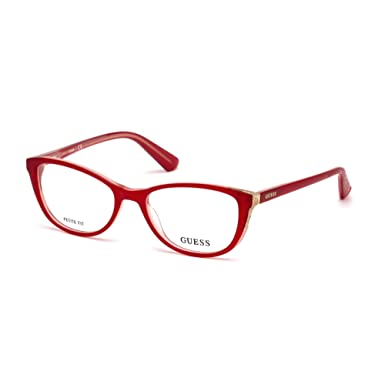 8232dc94f30 Optical frame Guess Acetate Red (GU2589 068) at Amazon Women s ...