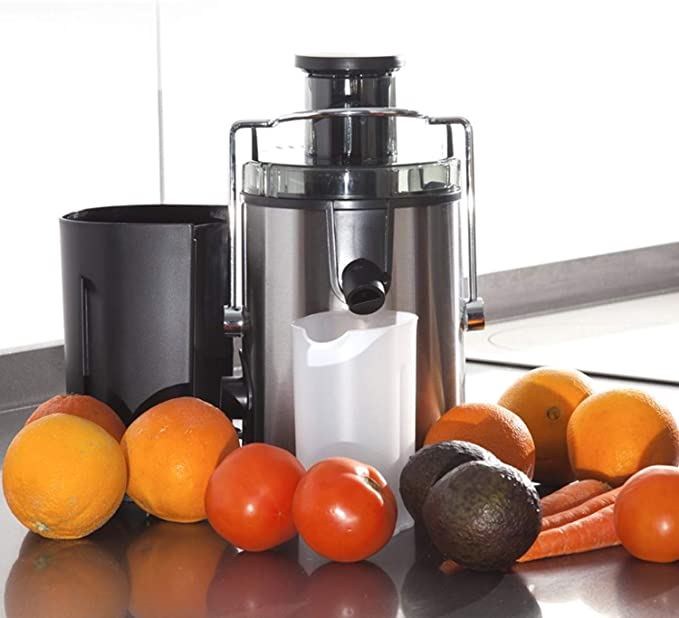 Novohogar Licuadora Eléctrica para Frutas y Verduras con Doble ...