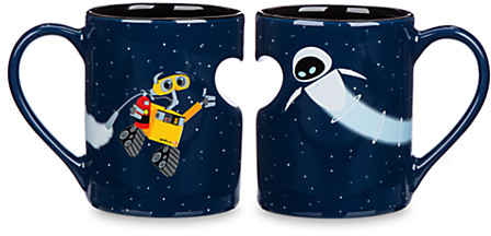 WALL•E and EVE Mug Set | Drinkware | Disney Store