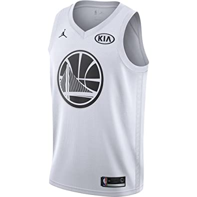 e7e8992e0 Image Unavailable. Image not available for. Color  Jordan Brand Stephen  Curry Golden State Warriors White 2018 All-Star Game Swingman Jersey -