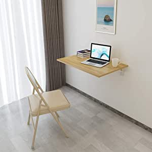 Need Wall Mounted Drop Leaf Folding Table Kitchen Dining Table Computer Desk Note Desk Space Saver Multipurpose table AC15BW(7650)