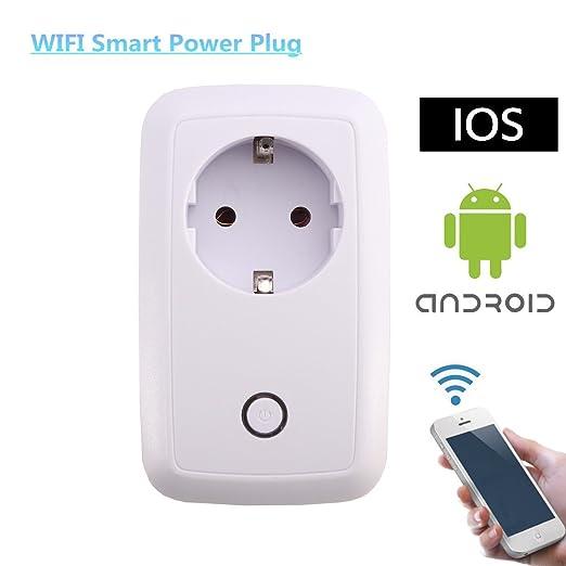 9 opinioni per MECO WLAN Presa Intelligente Presa Funzione Risparmio Energetico Controllo USB