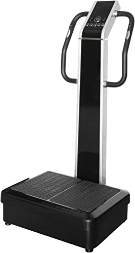 Whole Body Vibration Machine – Dual Motor by SDI Commercial 2HP, 440 lbs , Dual Motor, Large Vibrating Platform, USB Programmable