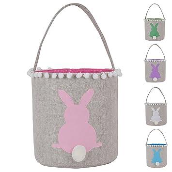Amazon.com: Bolsas de algodón de arpillera para cesta de ...