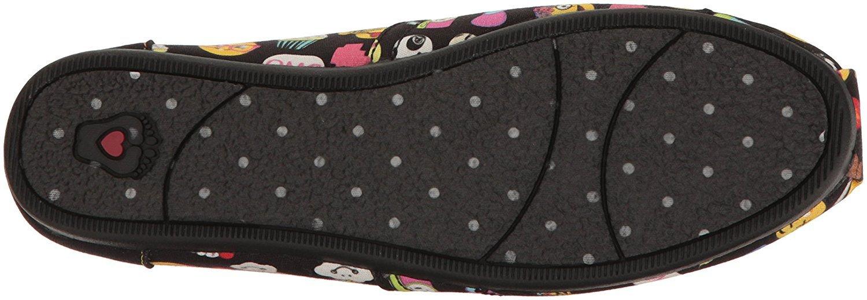 e9ab4697d86e6 Skechers BOBS from Women's Plush-Short Hand Flat, Black Emoji, 8.5 M ...