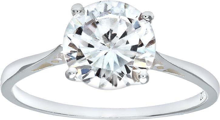 Radiant Elegance 925 Sterling Silver Ring Size EU-56,US-8,UK-Q